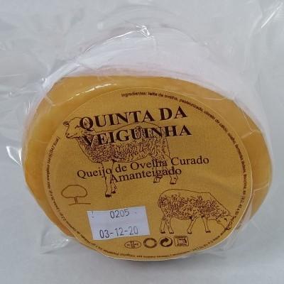 Queijo de Ovelha Curado Amanteigado Quinta da Veiguinha (450 a 480 Gr)