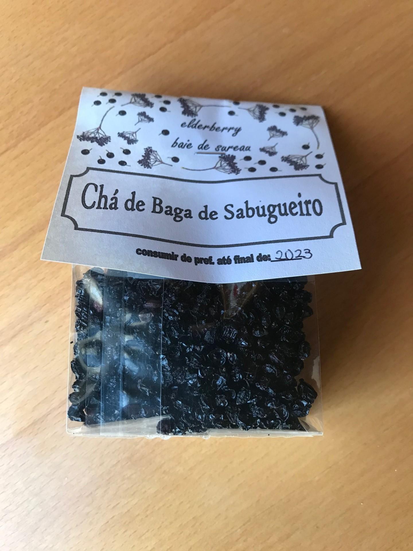 Chá de Baga de Sabugueiro