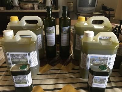 Azeite Virgem Extra do olival familiar em Trás-os-Montes