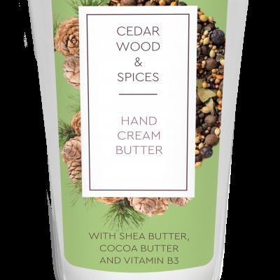 Creme mãos Cedro & Especiarias 75 ml