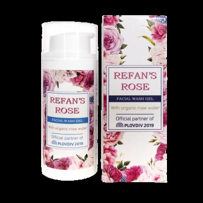 Gel limpeza facial Refan's  Rose 100 ml