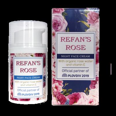 Creme noite Refan's Rose 50 ml