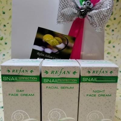 Gift Creme dia 50ml+c.noite 50ml+serum 50ml  Caracol