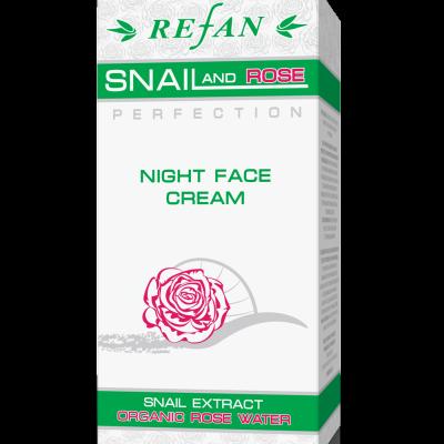 Creme noite Snail&Rose 50 ml