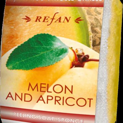 Peeling sabonete esponja Melão&Damasco 75gr