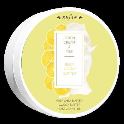 Creme corpo Butter Limão&Leite 200ml