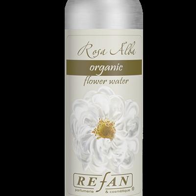 Água orgânica  de  Rosa Alba  125ml