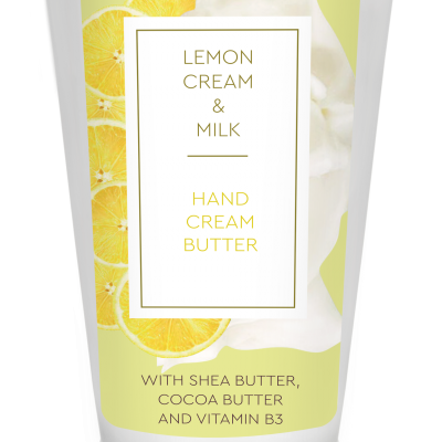 Creme mãos Limão & Leite 75 ml