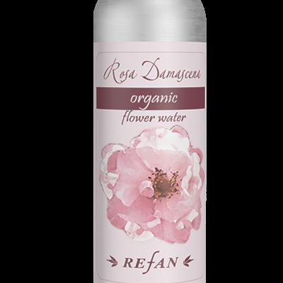 Água orgânica  de  Rosa Damascena  125ml
