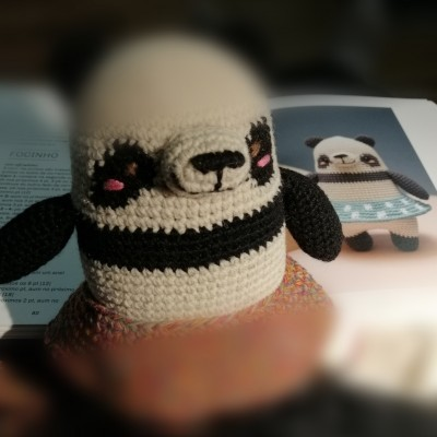 Bonecos e Workshops de crochet