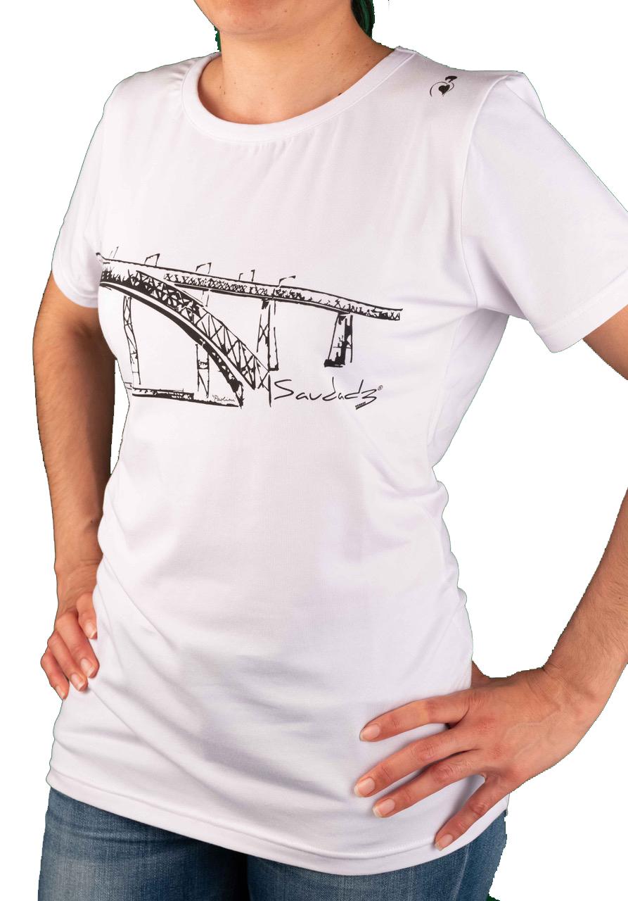 T-shirt Feminina Ponte D. Luís Porto