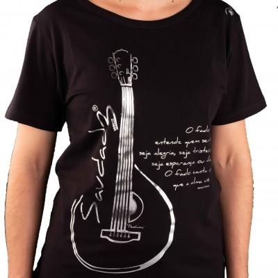 T-shirt  Feminina Fado