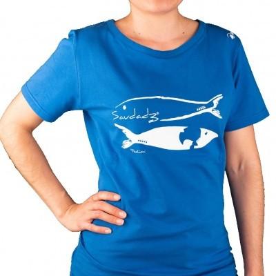 T-shirt Feminina Sardinha