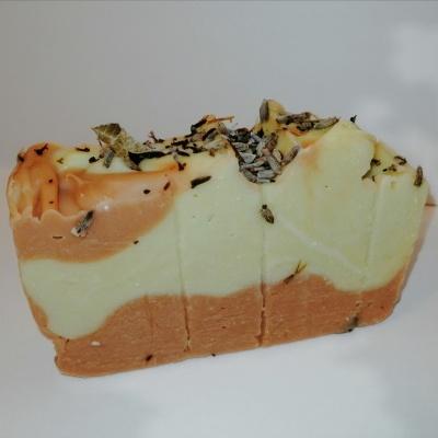 Sabonete Artesanal Manteiga Karite e Argila Rosa