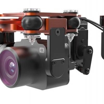 4K Camera And 2 Axis Gimbal