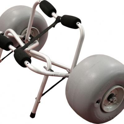 Wheeleez Kayak Cart - Beach w/30cm PU wheels