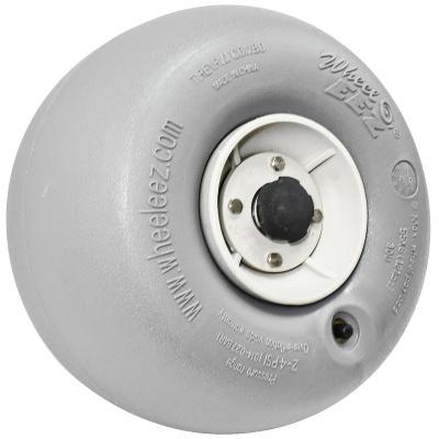 RodaSEEZ® roda de poliuretano de 30 cm / Com Bloqueio de Torção