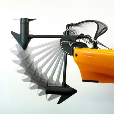 Aplicação de Motor em Kayak
