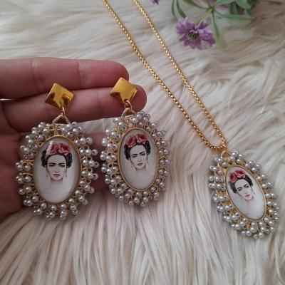 Brincos Frida Kahlo