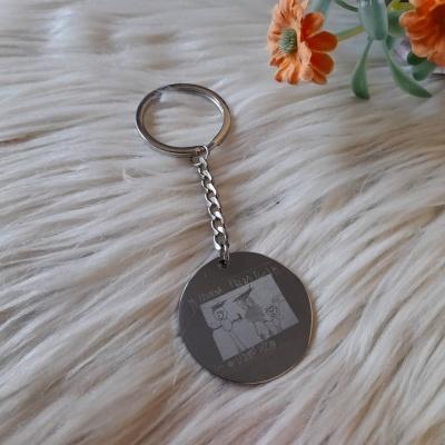 Porta chaves com foto gravação