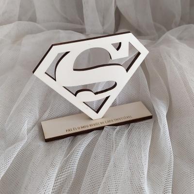 Mini Troféu - Super Pai