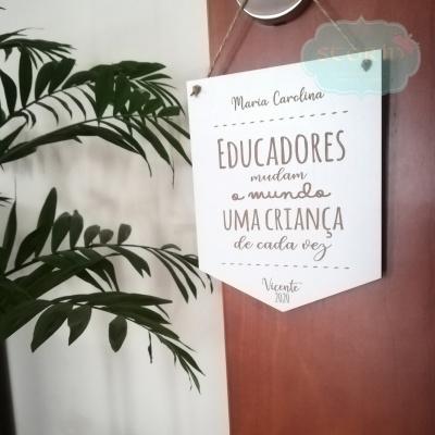 Bandeirola para Educadores