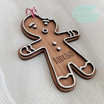 Pendentes de Natal - Gingerbread Collection