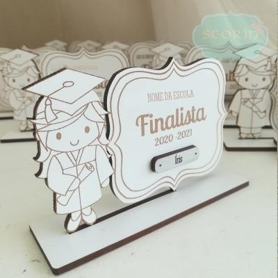 Mini Troféu - Finalistas