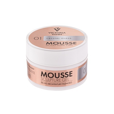 MOUSSE SCULPING GEL CRYSTAL GLASS 50ML VICTORIA VYNN