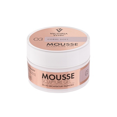MOUSSE SCULPING GEL CORAL SOFT 50ML VICTORIA VYNN