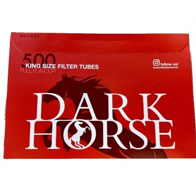 Tubos Dark Horse 500 Unidades