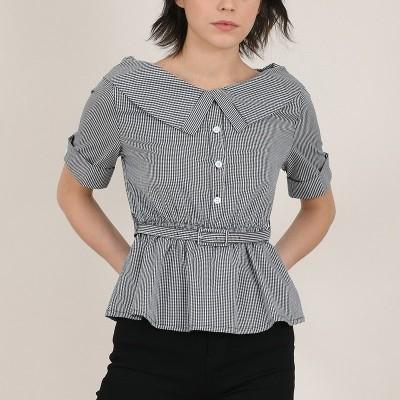 Blusa Quadrados - Molly Bracken