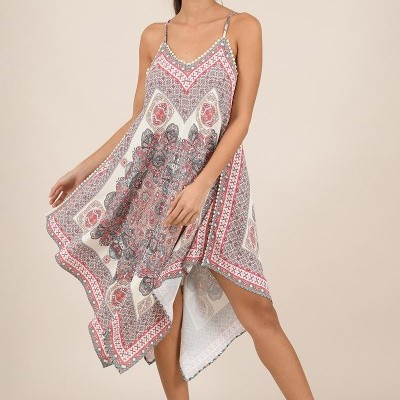 Vestido Estampado - Molly Bracken