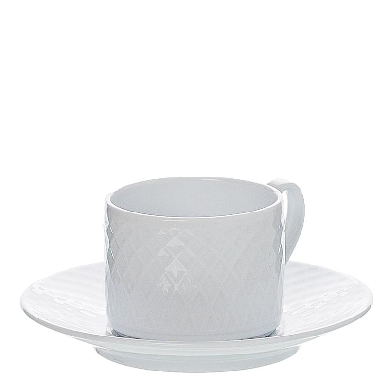 Chávena de chá c/ pires porcelana