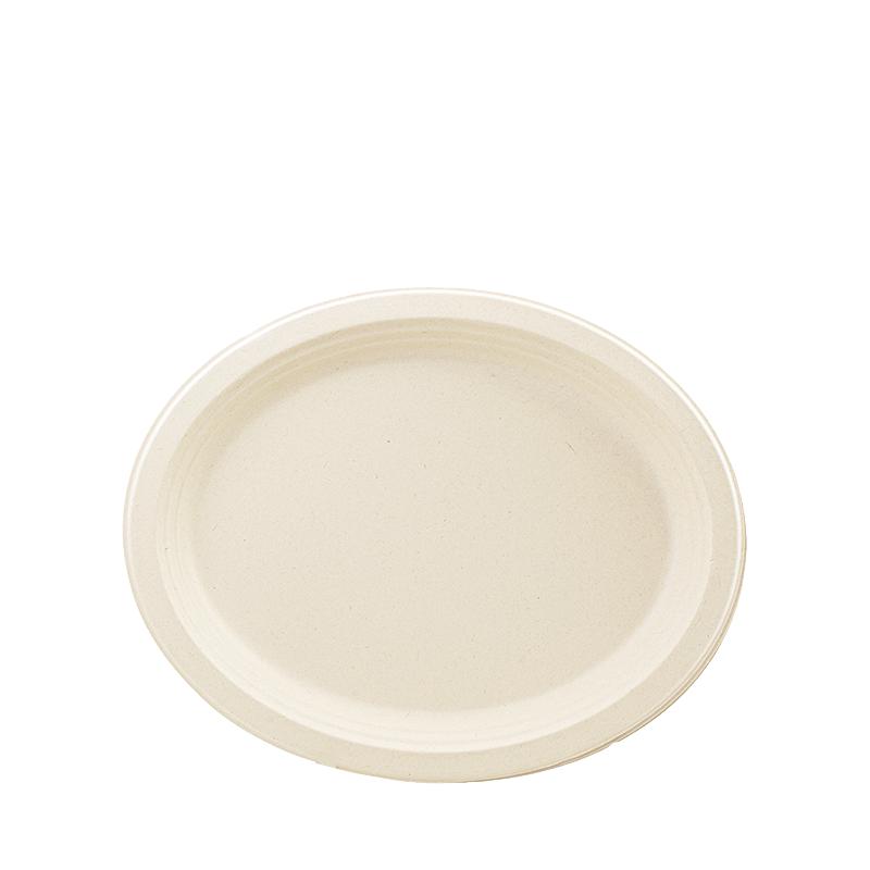 Conjunto 6 Pratos Biodegradáveis