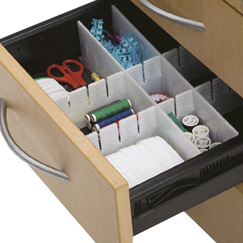 Organizador de gavetas x4 peças
