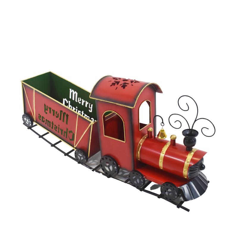 Comboio com 1 vagão MERRY XMAS