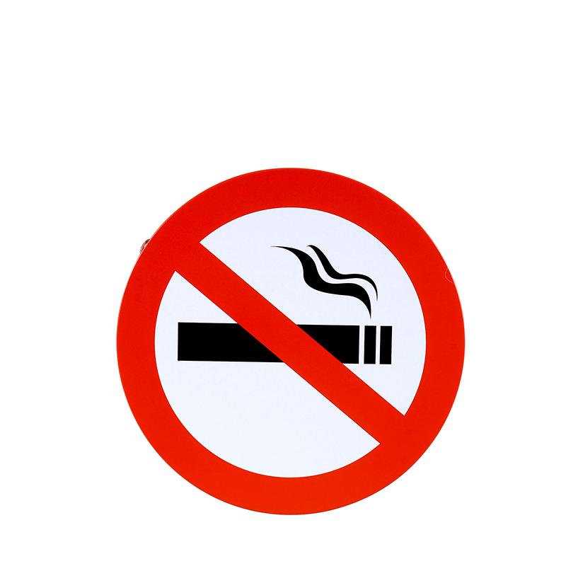 Placa No Smoking
