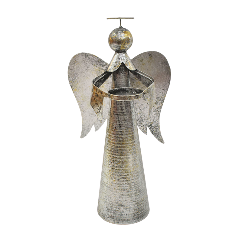 Anjo porta vela tealight