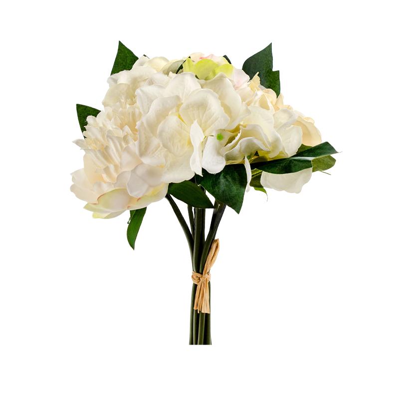 Bouquet de Peónias e Rosas
