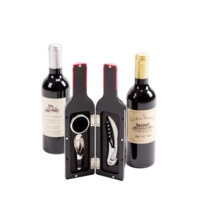 Garrafa com Acessórios para Vinho