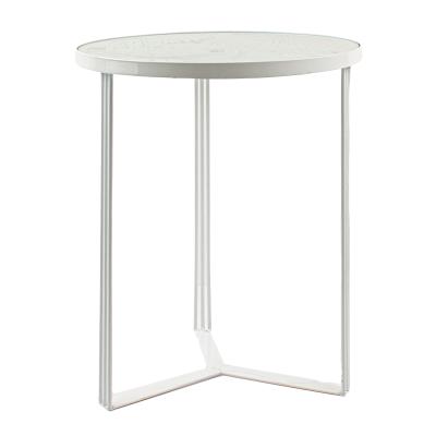 Mesa apoio Folha vidro