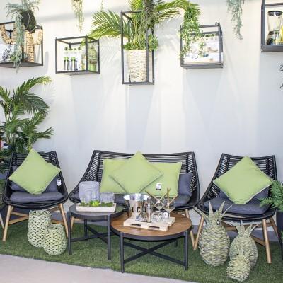 Conjunto mobiliário jardim 5 peças