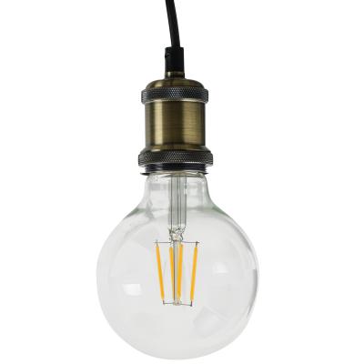 Suspensão c/ lâmpada