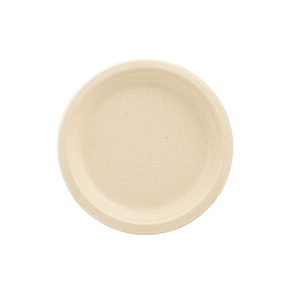 Conjunto 10 Pratos Biodegradáveis 23cm