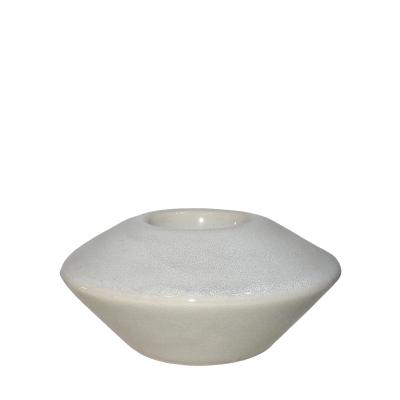 Porta Vela em Cerâmica 12x6cm