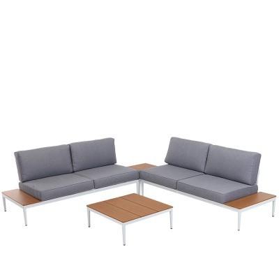 Conjunto mobiliário jardim 4 peças