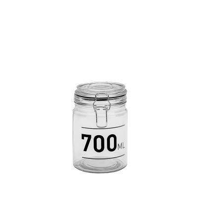 Frasco com tampa 0,7L