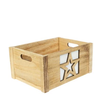 Caixa de Madeira 38x26x18cm