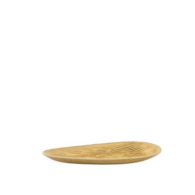 Prato decorativo em madeira